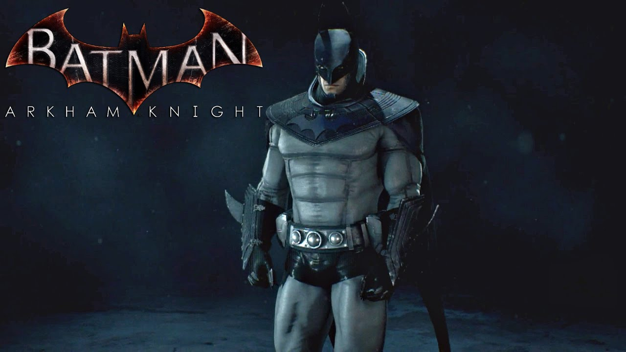 batman arkham knight anime batman skin gameplay youtube