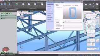 Интеграция Advance Steel со SCAD++