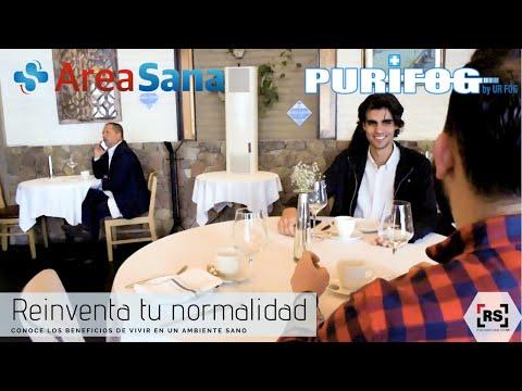 Reinventa tu normalidad con PURIFOG y AREA SANA | RSeguridad.com