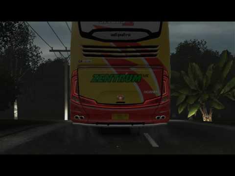 bus Zentrum jalan santai di sumatra