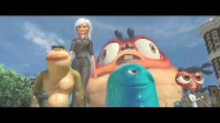 Monsters vs. Aliens (2009) HD Trailer