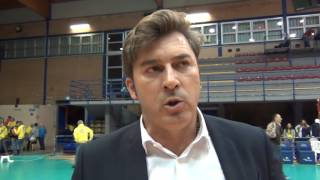 23-10-2016: #SuperLega Vincenzo Nacci nel post Latina - Modena
