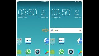 How to get Google Search bar back on Mobile Home Screen