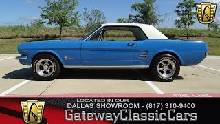 1966 Ford Mustang #427-DFW Gateway Classic Cars of Dallas
