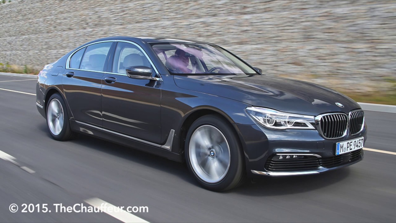2015 New Bmw 7 Series Detailed Images 730d And 750li From Thechauffeur Com Youtube