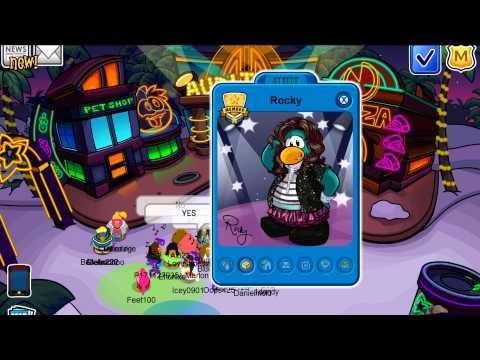 """Club Penguin Ultimate Jam Party 2012 """"Rocky and CeCe"""""""