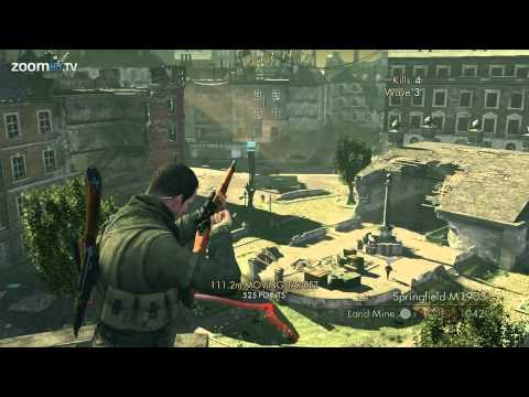 Sniper Elite V2's online modes - Kill Tally, Bombing Run, Overwatch and Co-op (Gameplay 1080p)