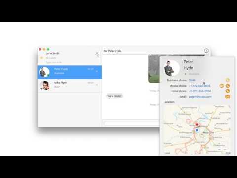 Message Track macOS Demo Video