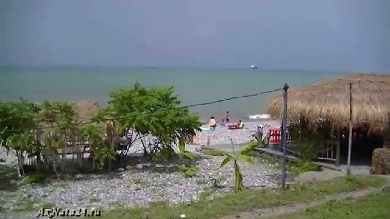 Отдых в Грузии.Чёрное море.Особенности пляжа,климат,цены, классное проживание!