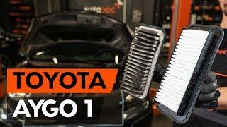 Underhåll Toyota Aygo ab1 - videoinstruktioner