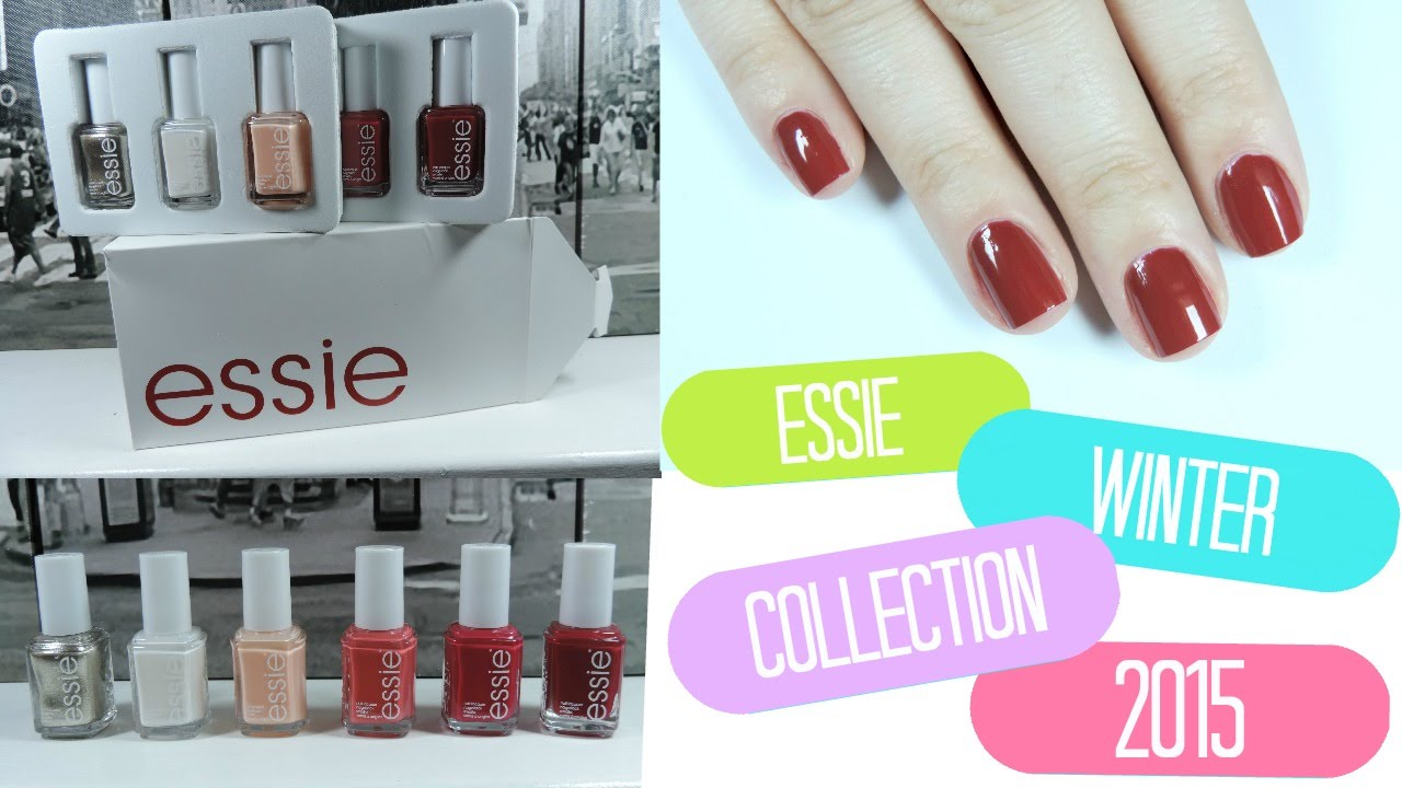 ➳Essie Winter 2015 Collection | Swatches + Review ➳ - YouTube