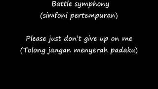 Linkin Park Lyric + Terjemahan -  Battle Sympony