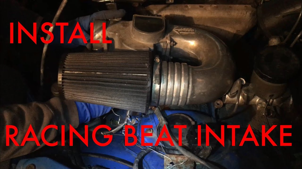 Project Mx-5] How-To Install Racing Beat Highflow Intake [HD