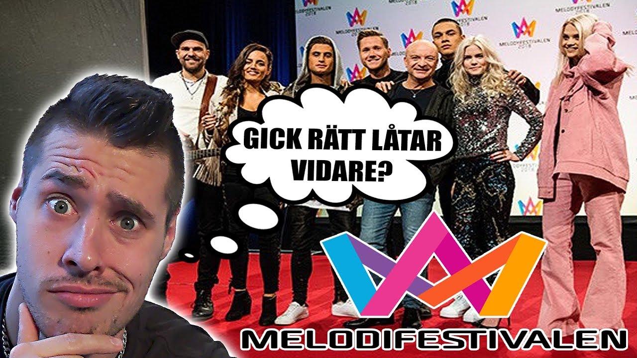 Melodifestivalen Deltävling 2: RECENSERAR DELTÄVLING 2 I MELODIFESTIVALEN 2018