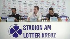 9. Spieltag: Sportfreunde Lotte - SV Lippstadt 4:0