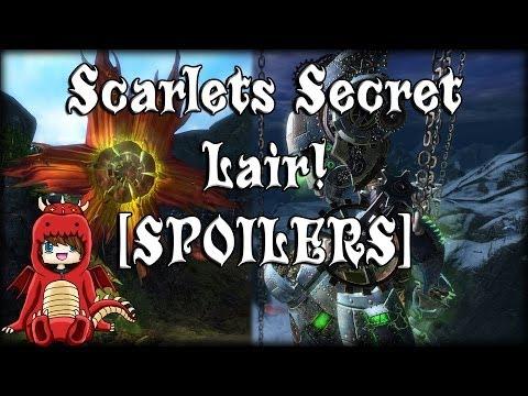 Guild Wars 2 - Scarlets Secret Lair! [SPOILERS]