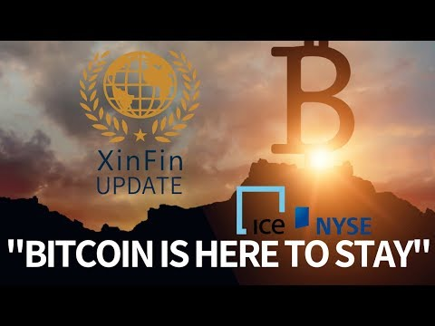 """""""Bitcoin is Here to Stay"""" Says NYSE Chairman & ICE CEO - Today's Crypto News"""