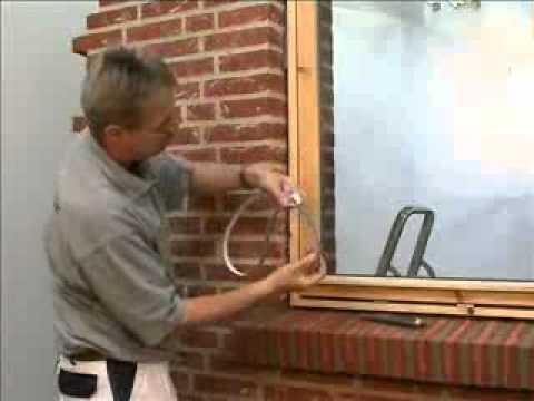 Ekspanderende fugebånd til vinduer – Bordben jern