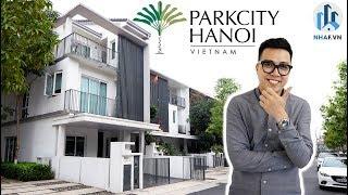 Khám Phá Biệt Thự Liền Kề tại ParkCity Hà Nội khu Nadyne 120m2 Trị Giá 9.5 Tỷ Đồng - NhaF [4K]