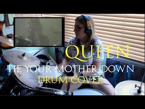 Queen|| Tie Your Mother Down Drum Cover