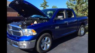 mqdefault Detail 2017 Ram 1500 Big Horn 4x4 Crew Cab 5 7 Box New 15840135