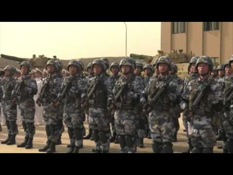 Chinese military base officially opens in Djibouti