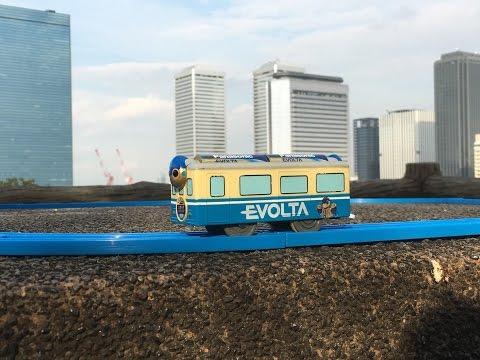 Plarail Evolta visit Osaka Castle Park Seongdong-gu (02913)