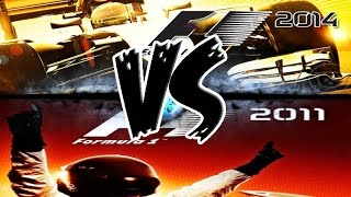 F1 2011 Vs. F1 2014. Gameplay PC. Review. Comparación. Let