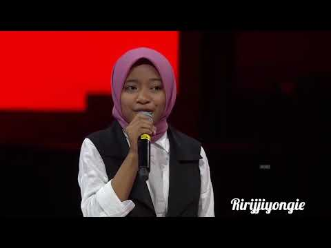 "Cover Lagu MERINDING.....Syarla ""The Voice Kids Indonesia"" Sesion 2 nyanyi lagu religi ..😢😢👍👍👍 STAFABAND"