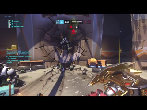 Overwatch playing with chat competitive