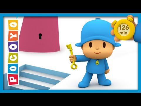 🗝 POCOYO AND NINA - The master key [126 min]   ANIMATED CARTOON for Children   FULL episodes