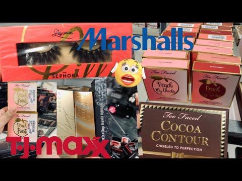 Too Faced Peach 🍑 Jackpot | High End Makeup At Tjmaxx & Marshalls!!