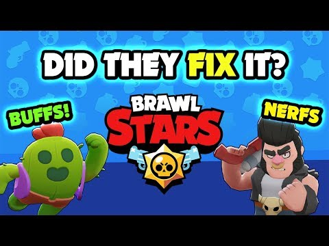 DID THEY FIX IT? Brawl Stars Releases NEW Balance Update!
