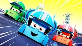 Truck Games Cartoon - OFFICIAL LIVE - Dessin animé de camions pour enfants