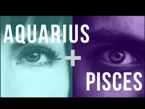 Aquarius & Pisces Sun: Love Compatibility