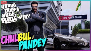 R6S now ! P.D NEW UPDATE : GTA RP 🔴 DCP CHULBUL PANDEY on DUTY•👮• GTA 5 Role Play !laptop