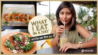 WHAT I EAT IN A DAY while traveling 2019 🍴 Ft. SugarSpiceNice India