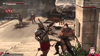 Ryse Son Of Rome PC Walkthrough - Part 2 Gameplay Playthrough Highest Settings