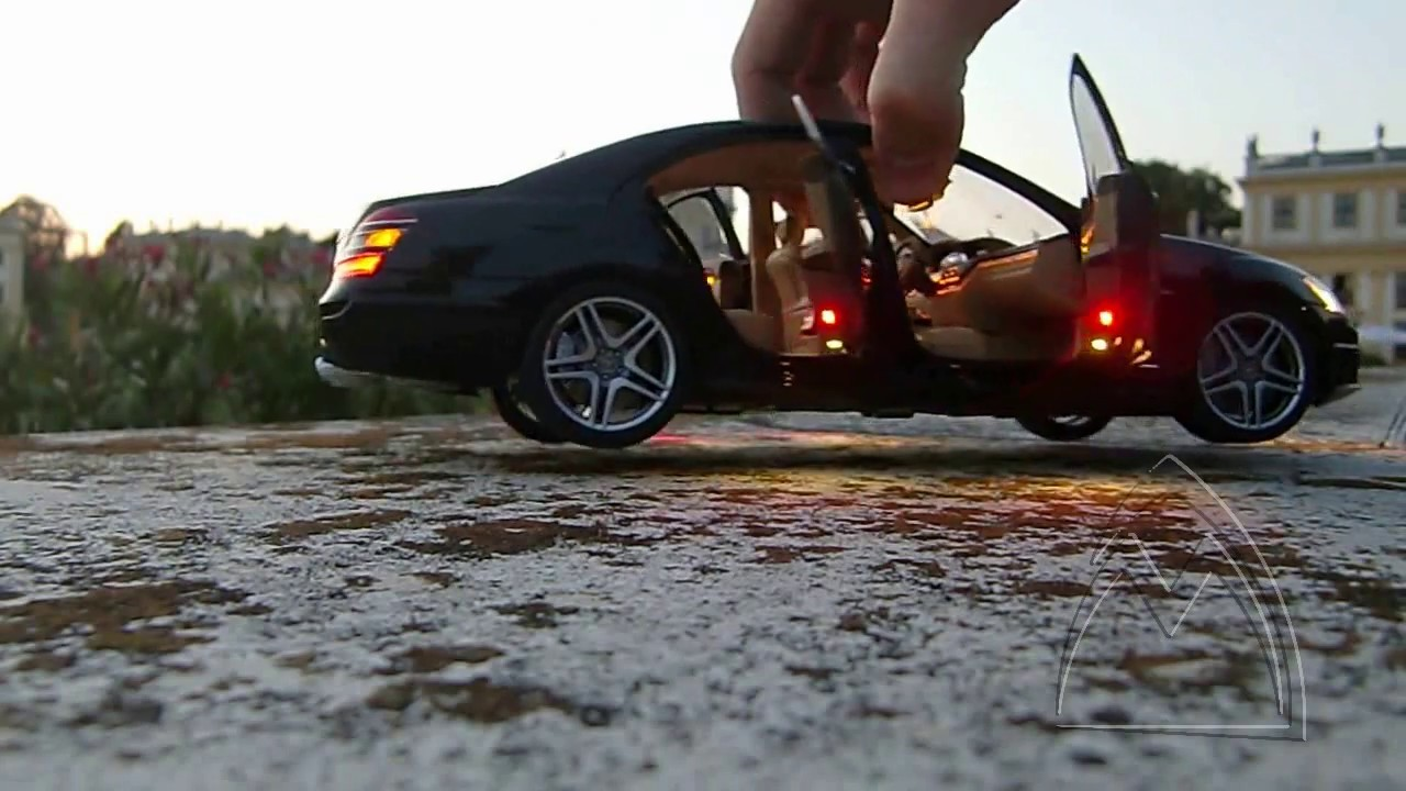 Mercedes Benz Toy Car S63 AMG LED Review Ambient Lighting ...