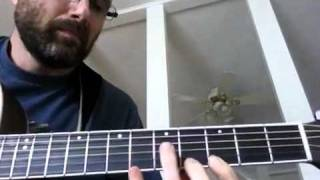 Peaches en Regalia Acoustic Guitar Lesson