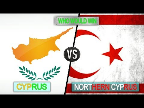CYPRUS VS NORTHERN CYPRUS  -  Military Power Comparsion 2018