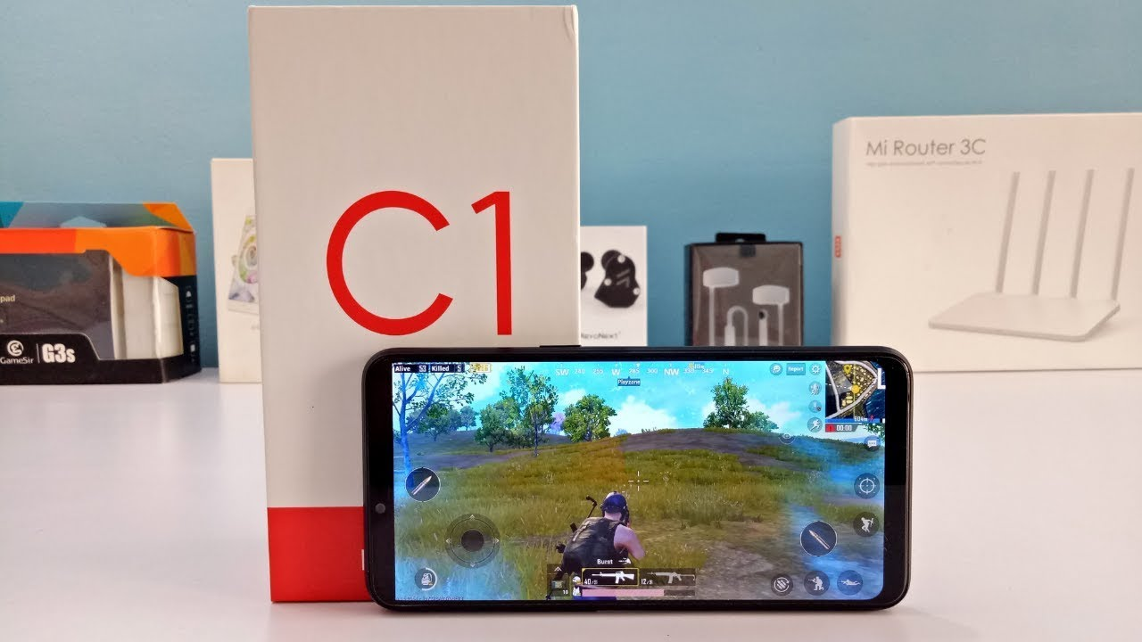 Realme C1 Heavy Gaming Review and Heating Test | REALME C1 PUBG Game Play