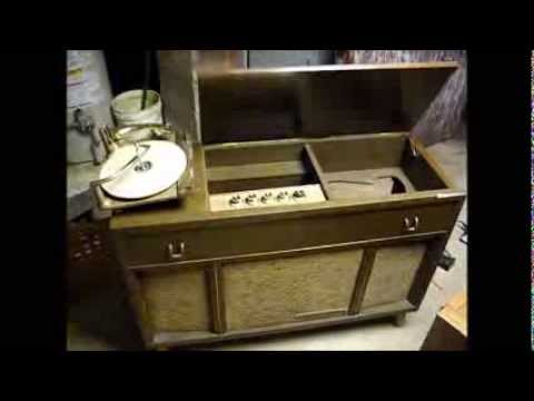 Motorola SK24W tube console stereo from 1960 - part one - YouTube