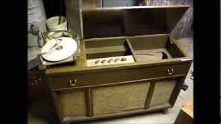Motorola SK24W tube console stereo from 1960 - part one