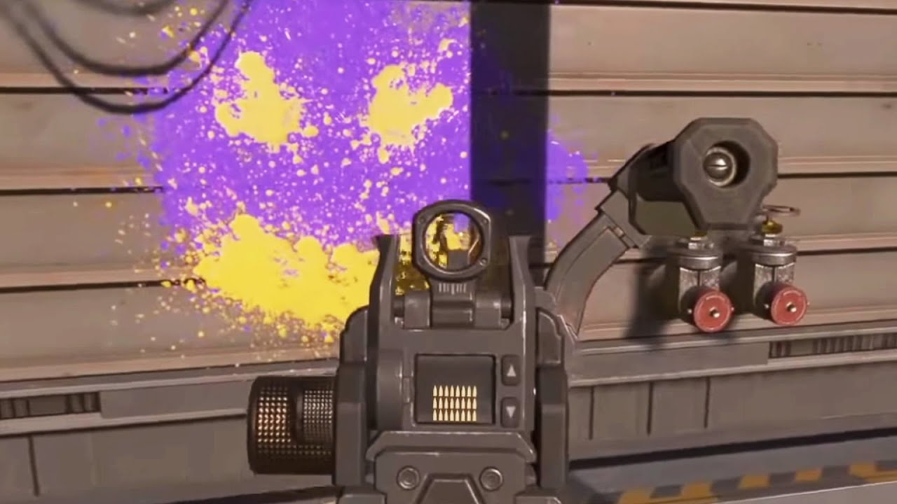 Crazy Paintball Gun Easter Egg In Apex Legends! Who Remembers This? #Shorts