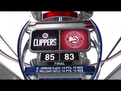 Los Angeles Clippers vs Atlanta Hawks - January 27, 2016
