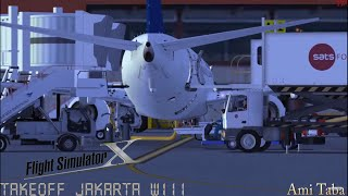 (Game PC) Flight Simulator X - Take Off At Jakarta WIII