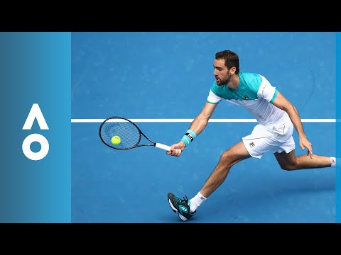 Pablo Carreno Busta v Marin Čilić match highlights (4R) | Australian Open 2018