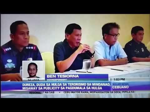 Mindanao terror threat fishy, say