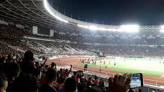 Koreografi Jakmania  Glory  Di Final Piala Presiden 2018